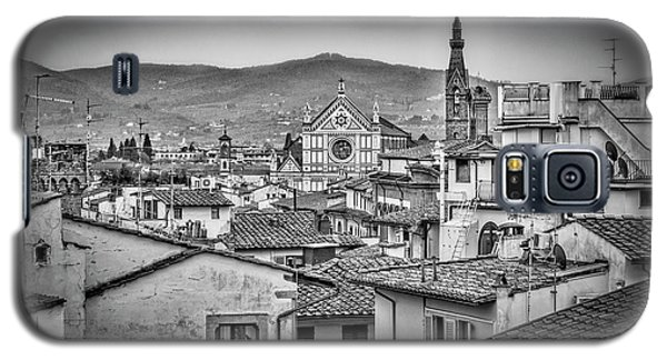 Galaxy S5 Case featuring the photograph Basilica Di Santa Croce by Sonny Marcyan