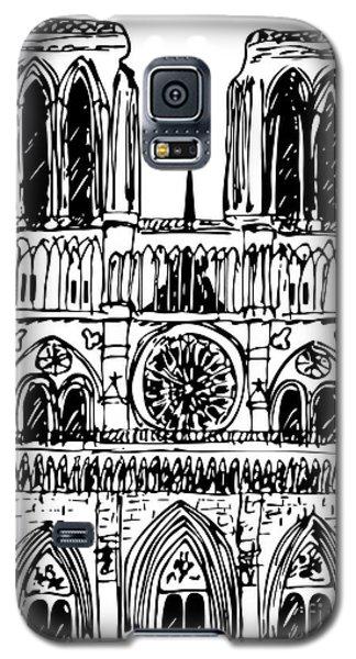 basilica Notre Dame Galaxy S5 Case