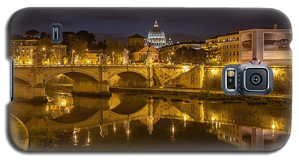 Basilica Over The River Tiber Galaxy S5 Case by Ed Cilley