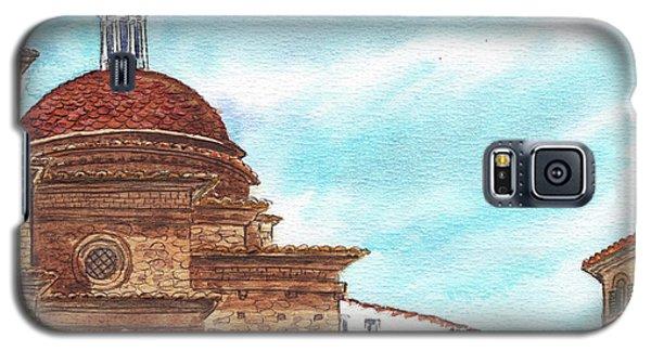 Galaxy S5 Case featuring the painting Basilica San Lorenzo Florence Italy by Irina Sztukowski