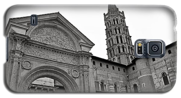 Galaxy S5 Case featuring the photograph Basilique St Sernin In Toulouse by Cendrine Marrouat
