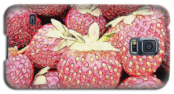 Basket Of Berries Galaxy S5 Case by Michele Meehl