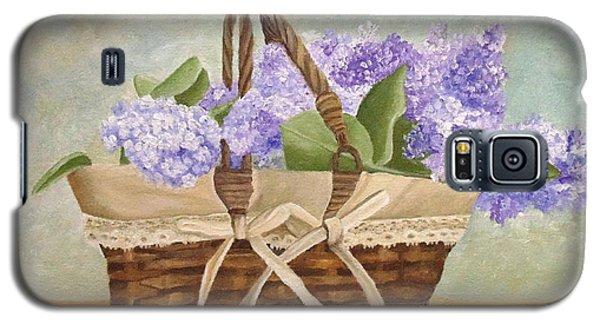 Basket Of Lilacs Galaxy S5 Case