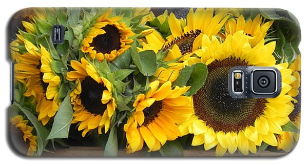 Basket Of Sunflowers Galaxy S5 Case