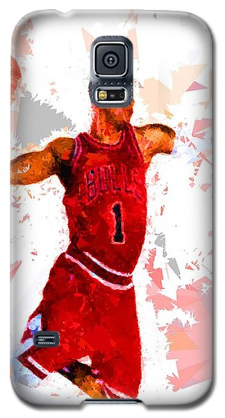 Galaxy S5 Case featuring the painting Basketball 1 by Movie Poster Prints