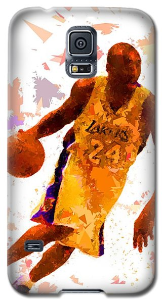 Galaxy S5 Case featuring the painting Basketball 24 by Movie Poster Prints
