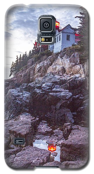 Bass Harbor Light Reflection Galaxy S5 Case