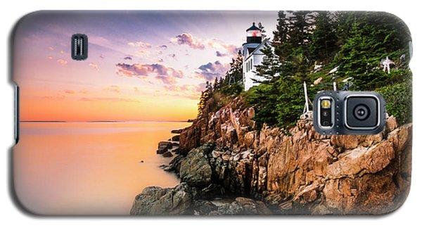 Bass Harbor Lighthouse Sunset Galaxy S5 Case