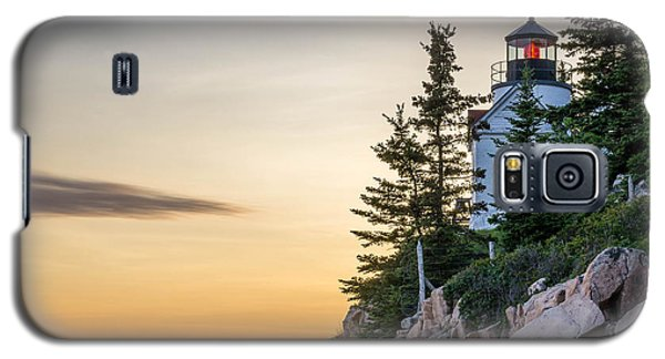 Bass Harbor Lighthouse Susnet  Galaxy S5 Case