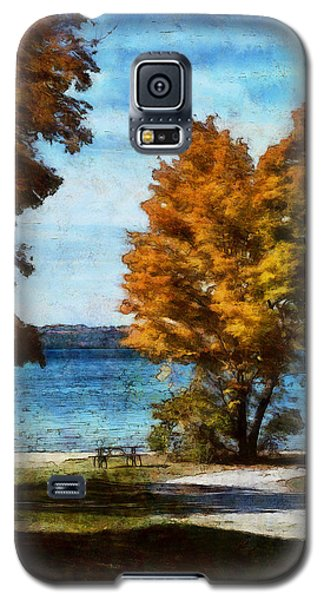 Bass Lake October Galaxy S5 Case