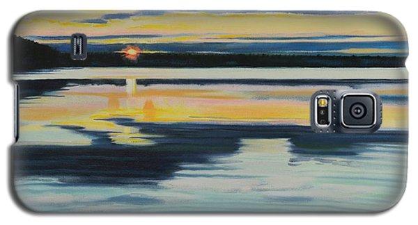 Bass Lake Sunset Galaxy S5 Case