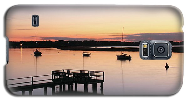 Galaxy S5 Case featuring the photograph Bass River Before Sunrise by Roupen  Baker