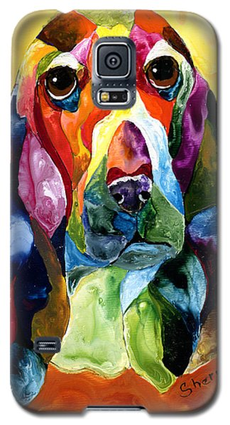 Basset Hound Blues Galaxy S5 Case