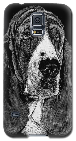 Basset Hound Galaxy S5 Case by Rachel Hames