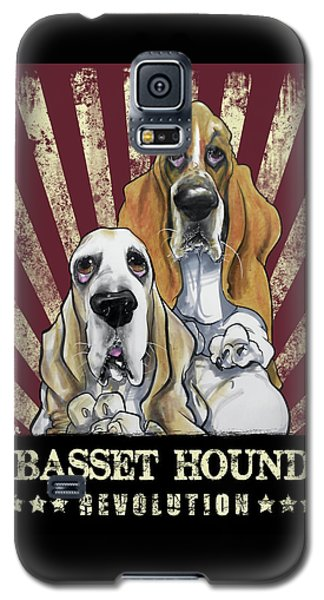 Basset Hound Revolution Galaxy S5 Case