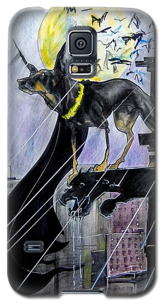 Bat-dog Caricature  Galaxy S5 Case