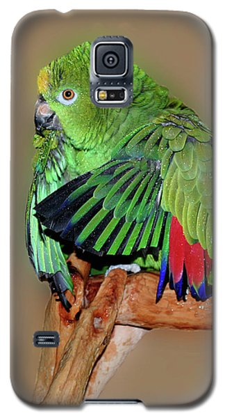 Galaxy S5 Case featuring the photograph Bathing Beauty Amazon by Smilin Eyes  Treasures