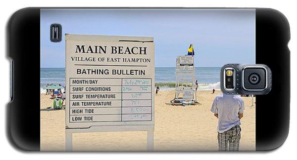 Bathing Bulletin Galaxy S5 Case