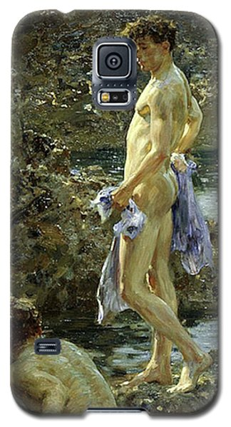 Bathing Group Of 1914 Galaxy S5 Case
