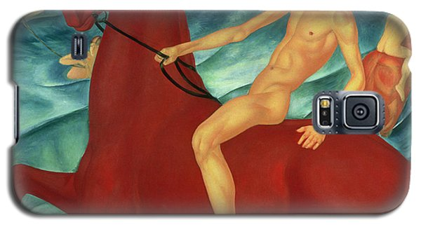 Bathing Of The Red Horse Galaxy S5 Case by Kuzma Sergeevich Petrov-Vodkin