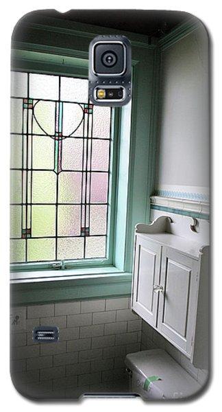 Vintage Bathroom Window Galaxy S5 Case