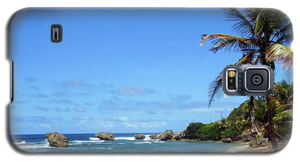 Galaxy S5 Case featuring the photograph Bathsheba, Barbados, by Kurt Van Wagner