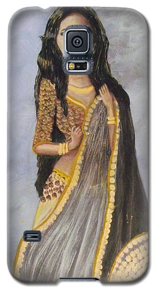 Galaxy S5 Case featuring the painting Bathsheba  by Donna Dixon
