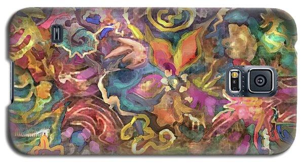 Batik Colorburst Galaxy S5 Case
