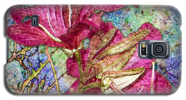 Batik Lilies Galaxy S5 Case