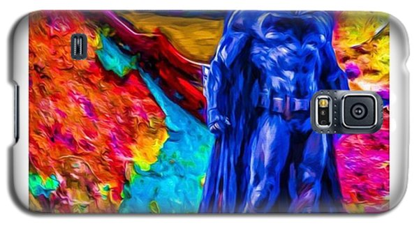 Superhero Galaxy S5 Case - #batman #batmanvsuperman #dc #dccomics by David Haskett II
