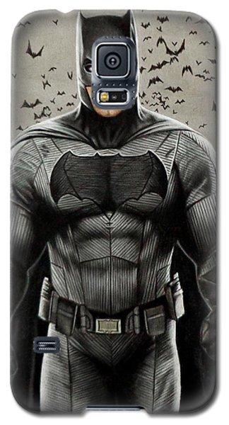 Batman Ben Affleck Galaxy S5 Case by David Dias