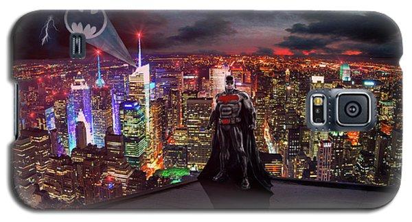 Ben Affleck Galaxy S5 Case - Batman by Michael Rucker