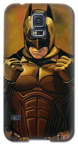 Superhero Galaxy S5 Case - Batman The Dark Knight  by Paul Meijering
