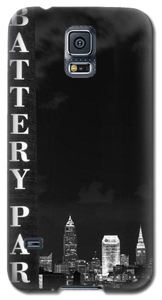 Battery Park Cleveland Skyline Galaxy S5 Case
