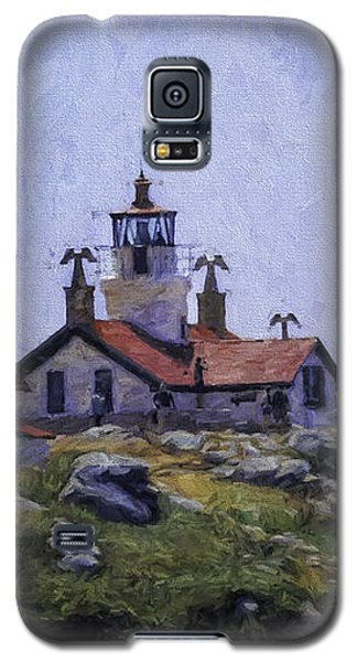 Battery Point Lighthouse Crescent City California Galaxy S5 Case