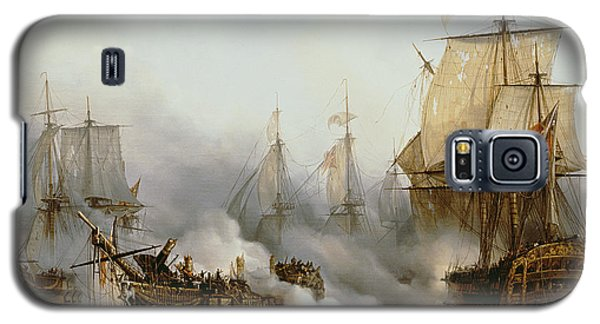 Battle Of Trafalgar Galaxy S5 Case by Louis Philippe Crepin