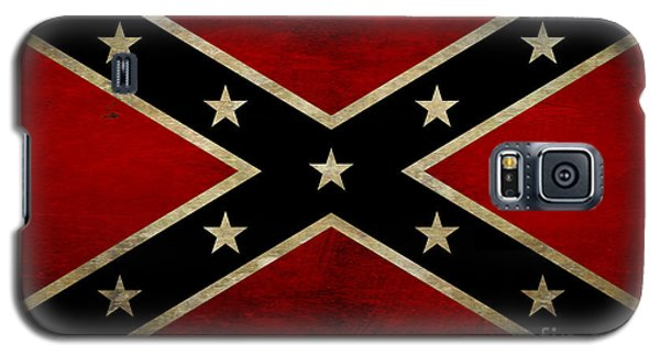 Battle Scarred Confederate Flag Galaxy S5 Case by Randy Steele