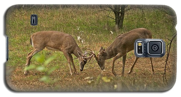 Battling Whitetails 0102 Galaxy S5 Case