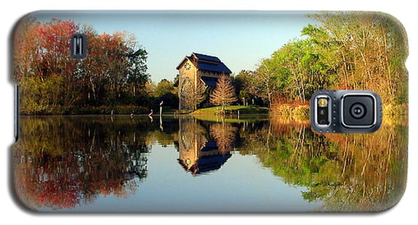 Galaxy S5 Case featuring the photograph Baughman Meditation Center by Farol Tomson