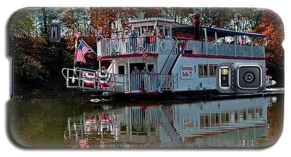 Galaxy S5 Case featuring the photograph Bavarian Belle Riverboat by LeeAnn McLaneGoetz McLaneGoetzStudioLLCcom