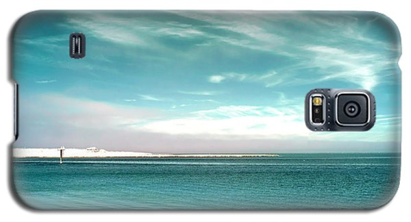 Bay Blues Infrared Galaxy S5 Case by John Rizzuto