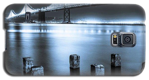 Bay Bridge 1 In Blue Galaxy S5 Case