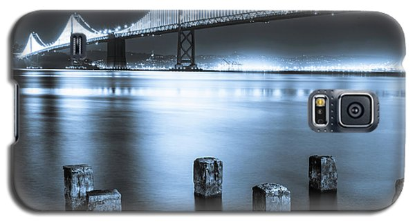 Bay Bridge 1 In Blue Galaxy S5 Case
