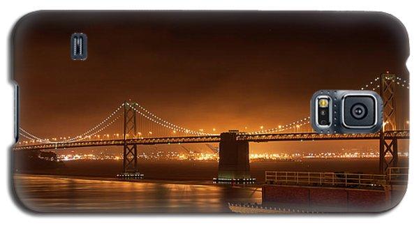 Bay Bridge At Night Galaxy S5 Case