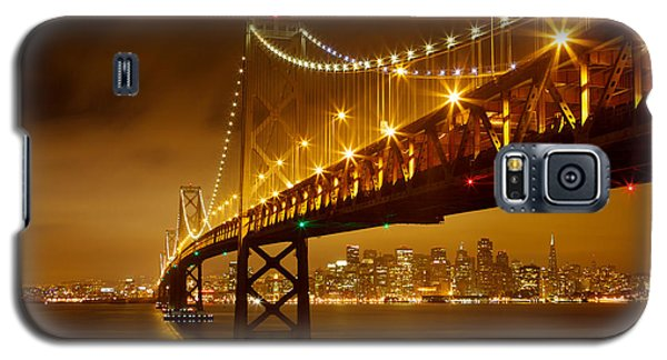 Galaxy S5 Case featuring the photograph Bay Bridge by Evgeny Vasenev