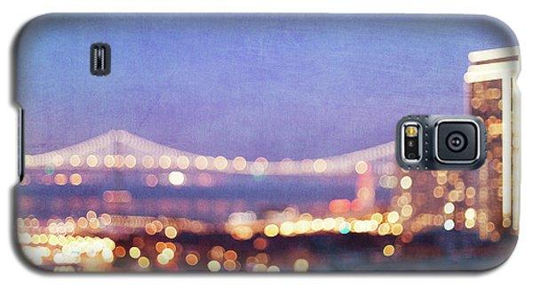 Bay Bridge Glow Galaxy S5 Case by Melanie Alexandra Price