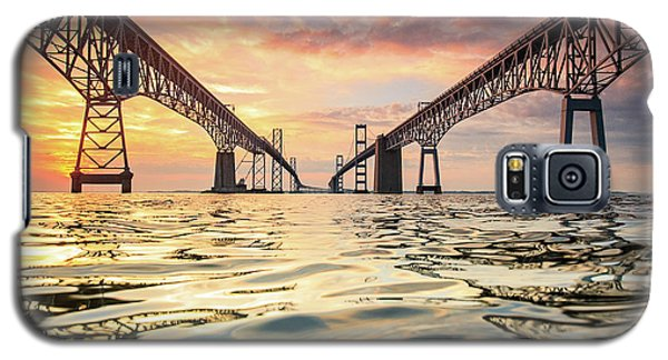 Architecture Galaxy S5 Case - Bay Bridge Impression by Jennifer Casey