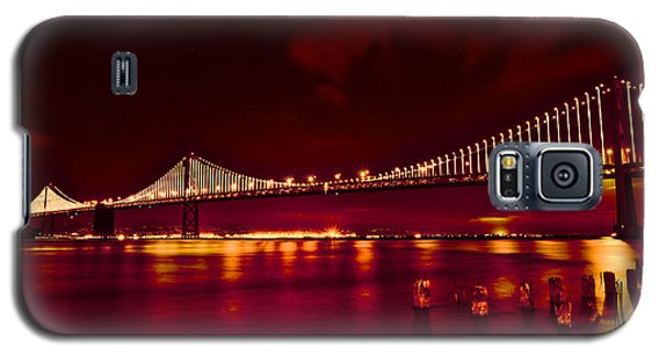 Bay Bridge Lights Galaxy S5 Case