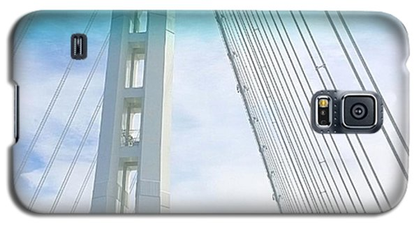 Architecture Galaxy S5 Case - Bay #bridge Section. Love The Aqua Tint by Shari Warren