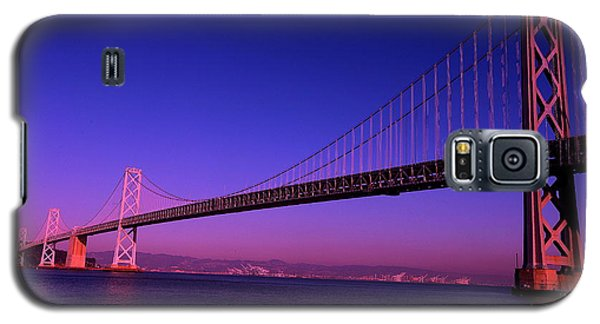 Bay Bridge Sunset Galaxy S5 Case